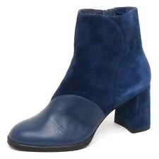 D8448 (without box) stivaletto donna blu CAMPER TWINS boot shoe woman
