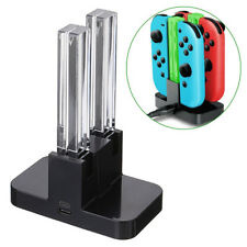 For Nintendo Switch Joy-Con 4-Controllers Charger Desktop Charging Dock Stand