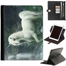 Unicorno a fantasia LUSSO Apple iPad 360 girevole iPad Custodia cover in pelle