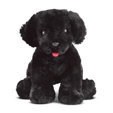NWT MELISSA & DOUG BENSON BLACK LAB Puppy Dog Plush Stuffed Animal