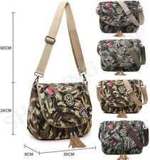 Fashion Ladies Camo Cross Body Messenger Bag Women Shoulder Tote Satchel Handbag