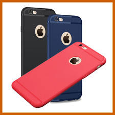 COVER Silicone per iPhone 6 -7-8 Custodia MORBIDA Gel TPU SLIM ULTRA SOTTILE
