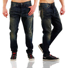 JACK & JONES JEANS PANTALONI DENIM da Uomo Erik Craft Blue bl661