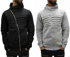 TIME IS MONEY MENS ragazzi Hip-hop a collo alto zip CLUB STAR GIACCA CARDIGAN G