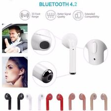 For Apple New iPhone 7 Wireless Bluetooth Earphone in Ear Stereo Earbud Headset