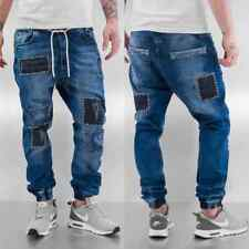 Just Rhyse Uomini Jeans / Jeans straight fit Patches