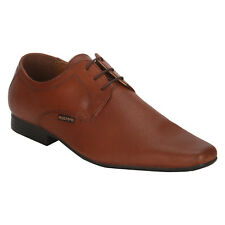 Red Tape Men's Leather Lace Up Pvc Sole Red Brown Formal Shoes (RTR1967)