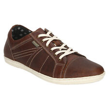 Red Tape Men's Leather Lace Up Tpr Sole Round Tip Brown Casual Shoes (RTR1902)