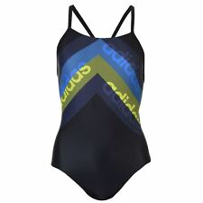 adidas Fit Lineage Swimsuit Ladies UPF 50+ Stretch Chlorine Resistant Sport