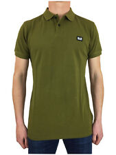 Weekend Offender Mens Preistley Classic Polo Shirt in Olive