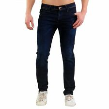 JACK & JONES Uomo Slim Jeans da Jogging Pantaloni O Ron Ellis Blue 161006