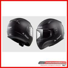 Ls2 Casco Moto Scooter Integrale FF353 Rapid Single Mono Nero Opaco