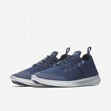 Mens Nike Free RN commuter Blue UK8.5/9 running trainers 880841 400 Ultra boost