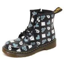 D9884 (SAMPLE NOT FOR SALE WITHOUT BOX) anfibio bimba nero DR. MARTENS boot kid