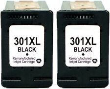 2x N º 301xl Negro Cartuchos de tinta no-oem Alternativa con HP CH563EE