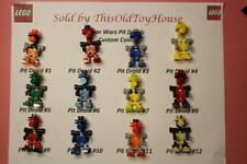 LEGO Star Wars PIT DROID 7131 CUSTOM COLORS CHOICE OF 12 DIFFERENT COLOR COMBOS