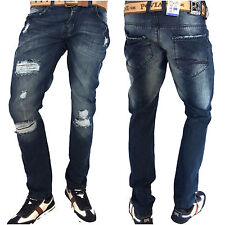 Echt peviani Bar Jeans, Hip Hop Urban Time Is Money Herren Star Denim Arizona