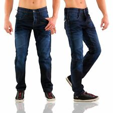 JACK & JONES JEANS PANTALONI DENIM DA UOMO STAN CARBONIO BLU SCURO Jj 892