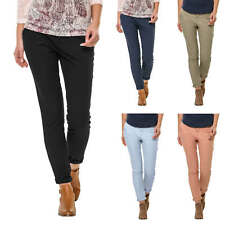 Only Damen Chino Hose Chinos Casual Stretch Chinohosen Stoffhose Freizeithose