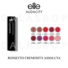 ELITE BEAUTY LIPSTICK AUDACITY ROSSETTO CREMOSO VARI COLORI