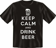 T-SHIRT - KEEP CALM AND DRINK BIRRA - MAGLIA DIVERTENTE