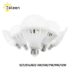 E27 B22 E14 Energy Saving LED Bulb Light 3/5/7/9/12/15W AC 220V Hotel Lamps A84