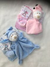 BABY 2 PACK SOCKS AND COMFORTER BY TICK TOCK