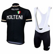 MOLTENI Replica Cycling Jersey and Bib Short Set Racing Pro