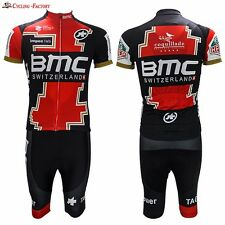 BMC Replica Cycling Jersey and Bib Short Set Racing Pro
