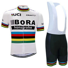 BORA Replica Cycling Jersey and Bib Short Set Racing Pro