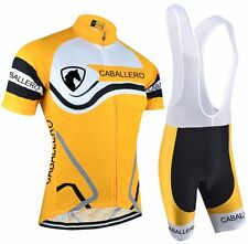 CABALLERO Cycling Jersey and 5D GEL PAD Bib Short Set Racing Pro