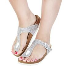 Ana Lublin Zapatos Mujer Chanclas Gris 83058 BDT