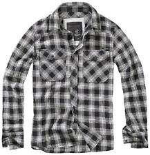 Oferta Camisa Brandit Great Creek Checkshirt Blanco/negro