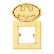 Children-Wooden-Batman-Logo-Themed-Light-Switch-Toddler-Child-Nursery-Furniture