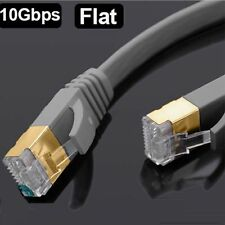 1m 2m 3m 5m RJ45 CAT7 Ethernet Red LAN Parche SSTP Gigabit Blindado Cable