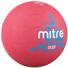 Mitre Oasis Training All Surface Netball Ball Pink