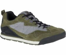 Merrell Burnt Rock Tura Denim Low Shoe J93831 Dusty Olive/Grey NEW