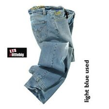 JEANS STRETCH von Little Big LTB DONNA PANTALONE JEANS BLU BORCHIE NUOVO