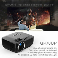 Full 1080P HD Lumens LED Projector Bluetooth WiFi Android4.4 3D Home Theater