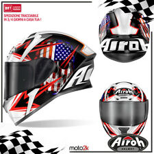 CASCO AIROH VALOR SAM BLACK GLOSS MOTO CROSS ENDURO OFFROAD - XS S M L XL