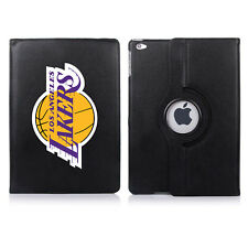 LA Lakers Personalised 360 Rotating Case Cover for ALL Apple iPad tablets
