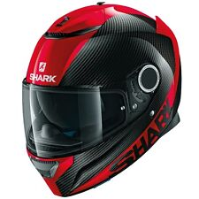 SHARK SPARTAN CARBON CASCO INTEGRALE MOTO - CARBON PELLE DRR