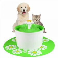 1.6L Pet Water Fountain Flower Style Automatic Electric Circulating Pet Water