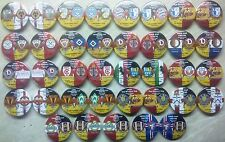 European Cup Match Play-Pins Clubs in Deutschland und der DDR 1955 - 2017 set 14