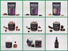 STICKY cebos Bloodworm Boilies, pellets, POP UPS, Wafters, Glug Todas las Serie