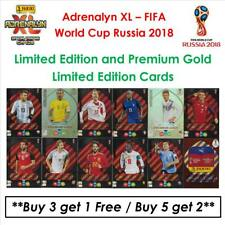 Adrenalyn XL - World Cup Russia 2018: Limited Edition + Premium Gold Cards