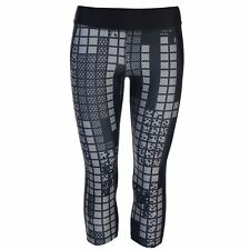 Under Armour Stamp Capris Ladies Pattern Stretch Moisture Wicking Elasticated