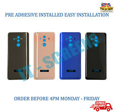 New Huawei Mate 10 Pro Rear Glass Back Battery Cover Replacement With Adhesive