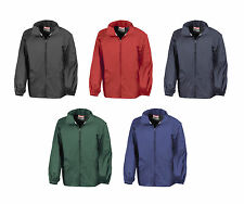 RESULT Chaqueta Rompevientos Windbreaker Impermeable Diferentes Colores S - 2xl