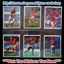 Daily Mirror 1986-87 PENDRIVE fútbol (Nottingham Forest) Select pegatinas